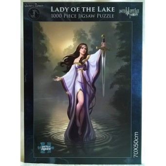 NEMESIS NOW JIGSAW PUZZLE - LADY OF THE LAKE