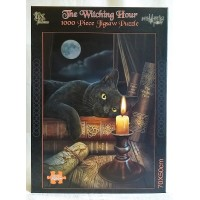 NEMESIS NOW JIGSAW PUZZLE - BLACK CAT - THE WITCHING HOUR