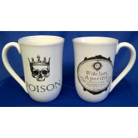 NEMESIS NOW JUMBO MUGS - POISON & WITCHES APERITIF