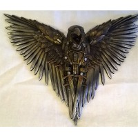 NEMESIS NOW STEAMPUNK WALL PLAQUE – BLADE RAVEN