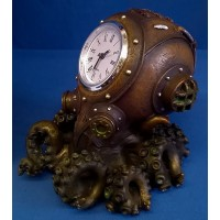 NEMESIS NOW STEAMPUNK CLOCK - CLOCKTOPUS
