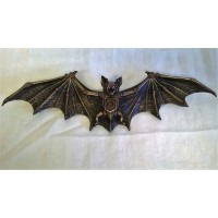 NEMESIS NOW STEAMPUNK WALL PLAQUE – CLOCKWORK BAT