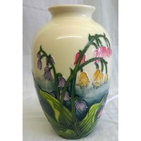 OLD TUPTON WARE LILY OF THE VALLEY 20cm OVOID SHAPED VASE
