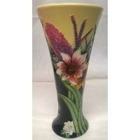 OLD TUPTON WARE SUMMER BOUQUET 20cm FLARED RIM TRUMPET VASE
