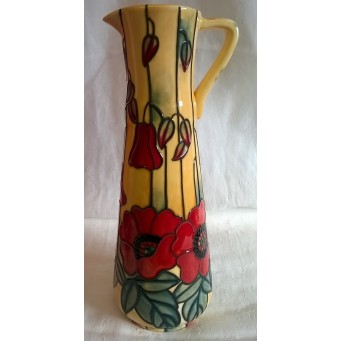 OLD TUPTON WARE YELLOW POPPY 25cm WINE JUG
