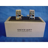 ONYX-ART CUFFLINK SET - IPHONE SMART PHONE
