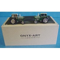 ONYX-ART CUFFLINK SET - TRACTOR GREEN