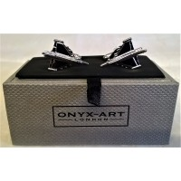 ONYX-ART CUFFLINK SET - EUROFIGHTER TYPHOON
