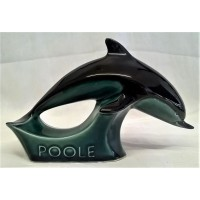 POOLE POTTERY ADVERTISING DISPLAY SIGN – BLUE GLAZED RANGE DOLPHIN