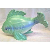 POOLE POTTERY PICOTEE GLAZE ART DECO STYLE FISH by JOHN ADAMS & HARRY BROWN