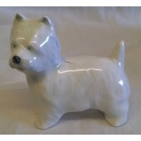 POOLE POTTERY DOG FIGURE – WESTIE