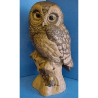 POOLE POTTERY STONEWARE BARRED OWL