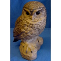 POOLE POTTERY STONEWARE LITTLE OWL