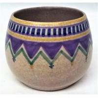 POOLE POTTERY GEOMETRIC WL PATTERN SHAPE 288 POT – MARJORIE CRYER