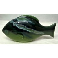 POOLE POTTERY FISH – MAYA DESIGN BIG FISH (A)