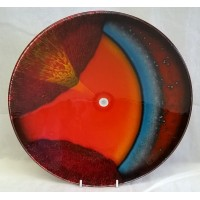 POOLE POTTERY STUDIO ORBIT 26.5cm CHARGER DISH – ALAN CLARKE