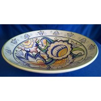 POOLE POTTERY STUDIO RETRO HX ART DECO PATTERN LTD EDITION BOWL