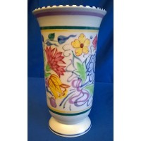POOLE POTTERY TRADITIONAL BN PATTERN TRUMPET VASE – JOSEPHINE SMITH