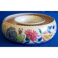 POOLE POTTERY TRADITIONAL BN PATTERN POSY BOWL – DIANE HOLLOWAY