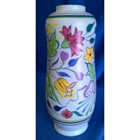 POOLE POTTERY TRADITIONAL BN PATTERN PEANUT VASE