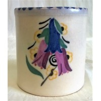 POOLE POTTERY TRADITIONAL CL BLUEBELLS PATTERN SHAPE 286 POT