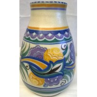 POOLE POTTERY TRADITIONAL CO PATTERN VASE – RUTH PAVELY