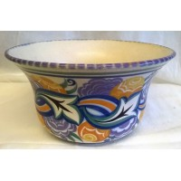 POOLE POTTERY TRADITIONAL CO PATTERN BOWL – MARY BROWN