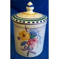 POOLE POTTERY TRADITIONAL DO PATTERN  JAM POT – GLADYS JEFFERY