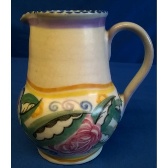 POOLE POTTERY TRADITIONAL FQ PATTERN SHAPE 328 JUG – MARJORIE BATT