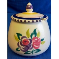 POOLE POTTERY TRADITIONAL KN PATTERN  JAM POT – PATRICIA WELLS