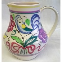 POOLE POTTERY TRADITIONAL LE PATTERN SHAPE 604 JUG – PAT SUMMERS