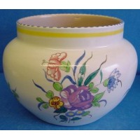 POOLE POTTERY TRADITIONAL LL PATTERN PLANTER