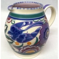 POOLE POTTERY TRADITIONAL PB BLUEBIRD PATTERN SHAPE 304 JUG – DORIS MARSHALL