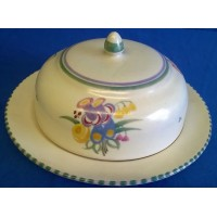POOLE POTTERY TRADITIONAL PC PATTERN MUFFIN DISH - MARJORIE CRYER
