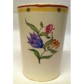 POOLE POTTERY TRADITIONAL RY PATTERN SHAPE 951 TUMBLER