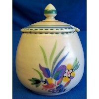 POOLE POTTERY TRADITIONAL TK PATTERN JAM POT – PHYLLIS ALLEN