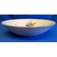 POOLE POTTERY TRADITIONAL TK PATTERN FRUIT OR SALAD BOWL – CLARICE HEATH