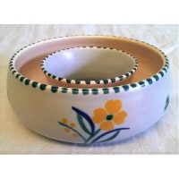 POOLE POTTERY TRADITIONAL VQ PATTERN POSY BOWL