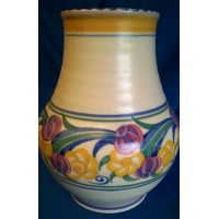 POOLE POTTERY TRADITIONAL ZY PATTERN VASE – DOROTHY JAMES