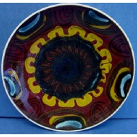 POOLE POTTERY DELPHIS 20cm PLATE OR DISH – ANGELA WYBURGH