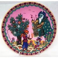 POOLE POTTERY SCENIC PLATE – ALADIN & THE LAMP by BARBARA FURSTENHOFER