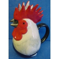 QUAIL DORKING COCKEREL JUG
