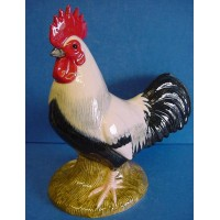 QUAIL DORKING COCKEREL FIGURE