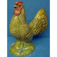 QUAIL GOLD SEBRIGHT COCKEREL FIGURE