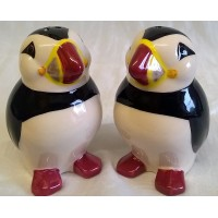 QUAIL PUFFIN SALT & PEPPER SET