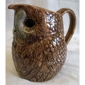 QUAIL TAWNY OWL JUG - 12 Fluid Ounces (300ml)