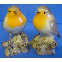 QUAIL ROBIN SALT & PEPPER SET