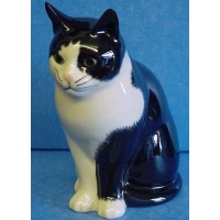 QUAIL CAT MONEYBOX - BARNEY