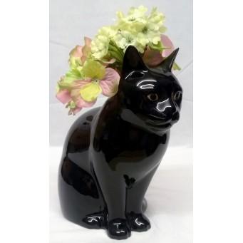 QUAIL CAT FLOWER VASE - LUCKY