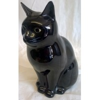 QUAIL CAT MONEYBOX - LUCKY